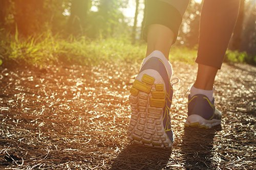Walking the path to health