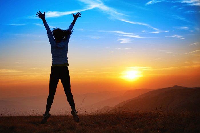 celebrating health with chiropractic adjustment